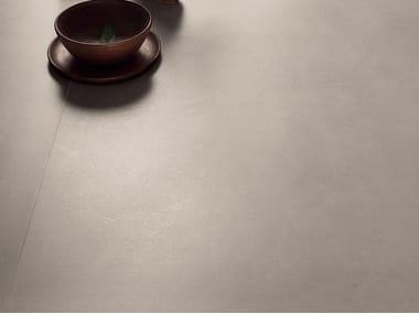 Pavimento/rivestimento in gres laminato effetto cemento CEMENT PROJECT - COLOR-10 CEM
