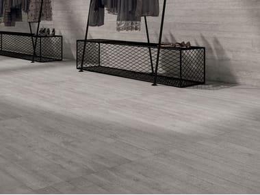 Pavimento/rivestimento in gres laminato effetto cemento CEMENT PROJECT - COLOR-20 WORK