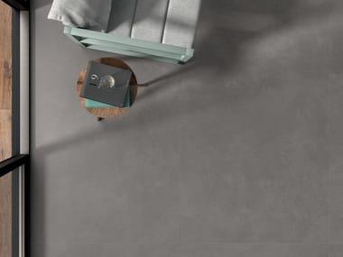 Pavimento/rivestimento in gres laminato effetto cemento CEMENT PROJECT - COLOR-30 CEM