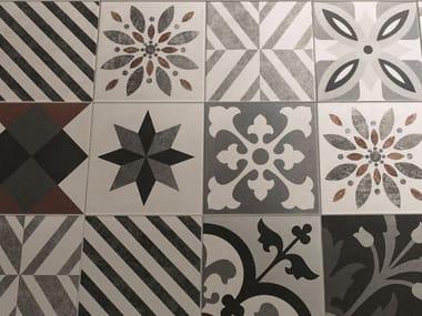Ceramic materials wall/floor tiles CEMENTINE