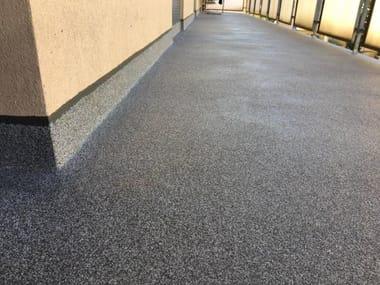 Pavimento per esterni in resina CERAMIC
