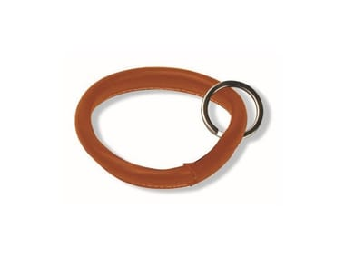 Tanned leather Keychain CERCHIO | Keychain