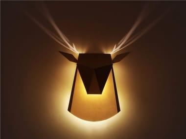 LED indirect light wall light CERF