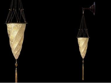 Lampade da parete in vetro stile orientale archiproducts