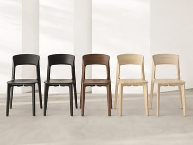 Solid wood chair CETONIA - L | Chair