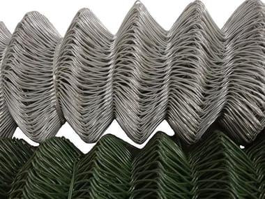 Rete metallica in acciaio zincato e/o in pvc RETE A MAGLIA SCIOLTA ZINCATA & PVC