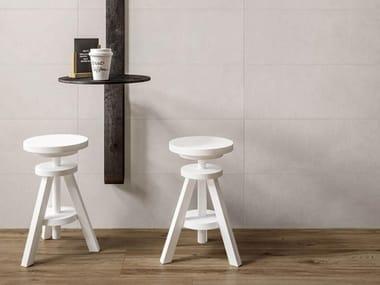 Rivestimento in ceramica a pasta bianca CHALK | Grey