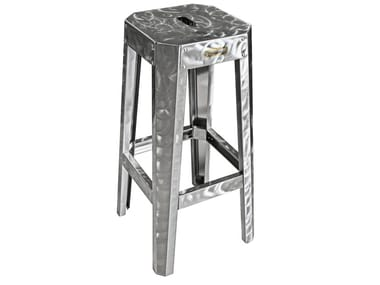 High barstool with footrest CHAMPO FF