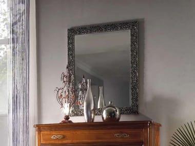 Wall-mounted framed mirror CHANEL | Mirror