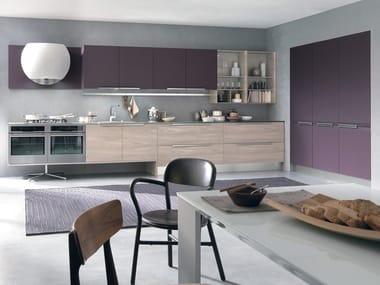 SKY | Lacquered kitchen By Febal Casa design Dario Poles