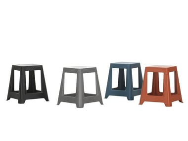 Stackable polypropylene stool CHAP