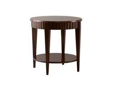 Tavolino rotondo in ciliegio CHARLES
