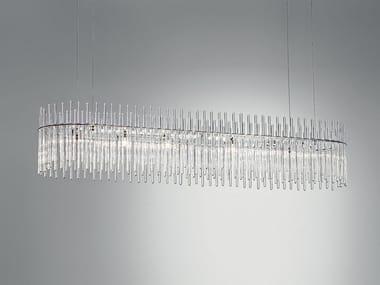 Lampada a sospensione a LED in vetro di Murano CHARLESTON | Lampada a sospensione