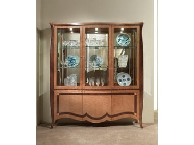 Crystal Display Cabinet Charme
