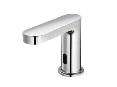 Infrared countertop electronic washbasin mixer CHARMING PLUS | Electronic washbasin mixer