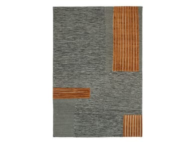 Patterned handmade rug CHECKERS
