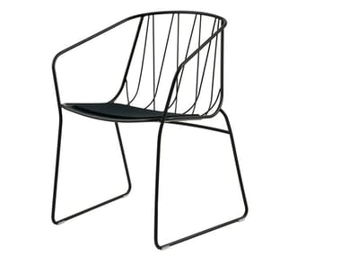 Garden chair with armrests CHEE | Chair with armrests
