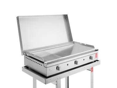 Barbecue a gas in acciaio inox CHEF   Barbecue