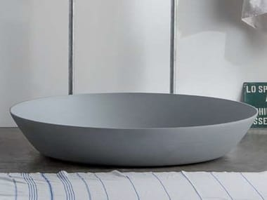 Round aluminium shower tray CHEF | Shower tray