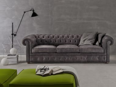 Chesterfield style 4 seater sofa CHESTER NYX