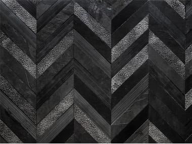 Marble wall/floor tiles CHEVRON