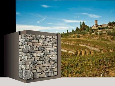 Rivestimento di facciata in pietra artificiale CHIANTI P89