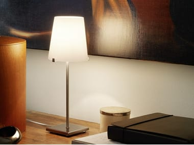 Blown glass table lamp CHIARA