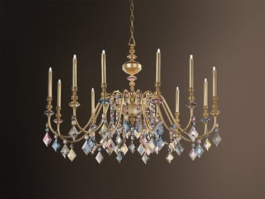 Metal chandelier with crystals CHIC 12/ CHIC 5