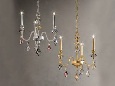 Classic style direct light crystal chandelier with crystals CHIC 3