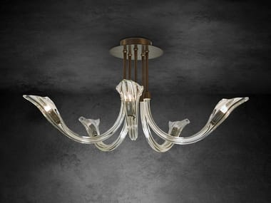 Contemporary style indirect light crystal ceiling lamp CHILL OUT C5