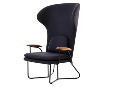 Wing high-back fabric armchair QT CHILLAX HIGHBACK CHAIR
