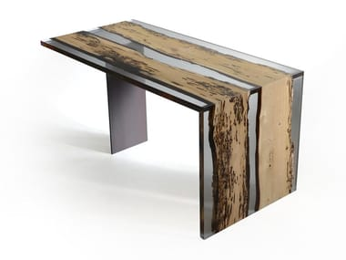 Rectangular writing desk BENT | Writing desk