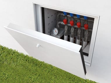 Flush-to-the-wall door system CHIUDI
