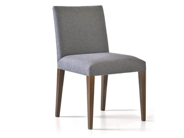 Upholstered fabric chair CHLOY