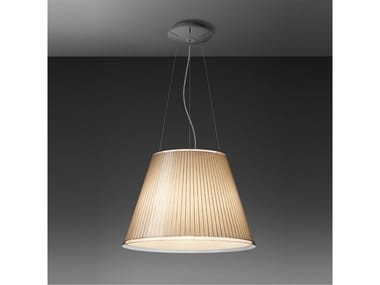 Direct light parchment paper pendant lamp CHOOSE MEGA | Parchment paper pendant lamp