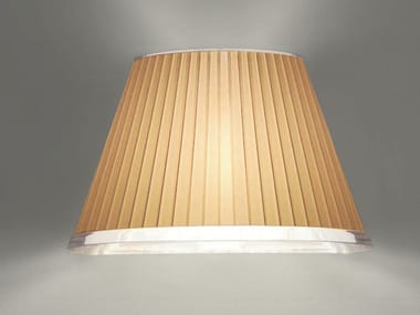 Direct-indirect light halogen parchment paper wall light CHOOSE | Parchment paper wall light