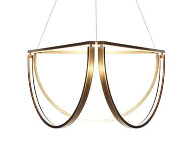 Lampada a sospensione a LED CHORD CLUSTER