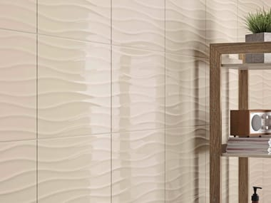 White-paste wall tiles CHROMA