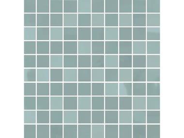 Mosaico in materiali ceramici CHROME | Mosaico mix smeraldo