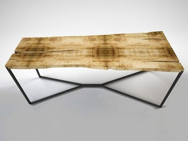 Rectangular wooden table CHROMOSOME | Rectangular table