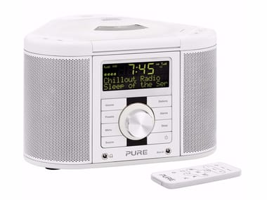 Radio with CD player with remote control CHRONOS CD II