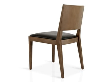 Cadeira de pele de restaurante CIBELLE | Cadeira