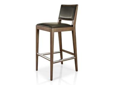 Cadeira de pele com apoio de pés CIBELLE | Cadeira