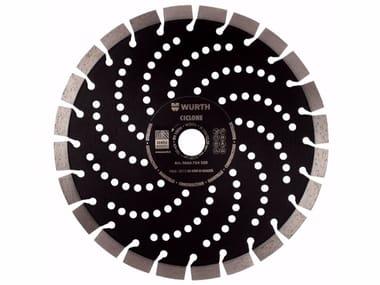 Diamond-coated Cutting Disc Diamond-coated Disc Ciclone 230 mm