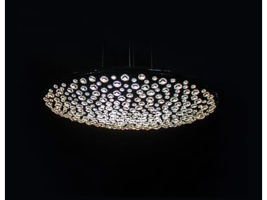Lampada a sospensione alogena in cristallo CIELO   Lampada a sospensione in cristallo