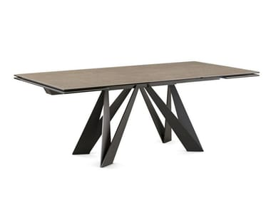 Ceramic dining table CIGALE