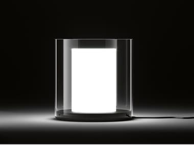 Lampada da tavolo a luce diretta in Pyrex® CILINDRI