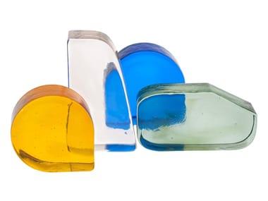 Fermalibri in vetro colorato CINEMA