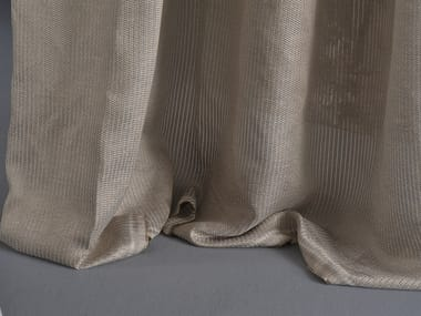 Washable linen fabric for curtains CINETICA