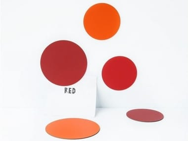 Magnet CIRCLES SHADES OF RED